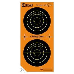 """Caldwell Orange Peel 3"""" Bulls-eye Targets 15 pack"""