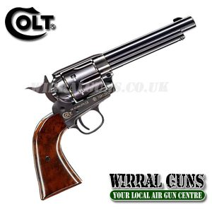 COLT SAA PEACEMAKER SINGLE ACTION ARMY .177 - BLUED