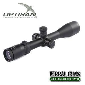 Optisan EVX 4-16x44 F1 FFP MIL-FHM16 Riflescope