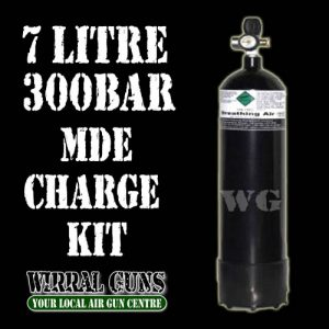 7 Litre 300 Bar Air Gun Charging Kit  - MDE