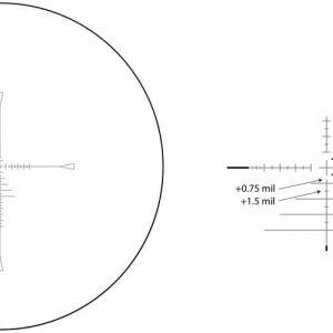MTC Optics Viper Pro Tactical  5-30x50 IR Rifle Scope - Reticle SCB2