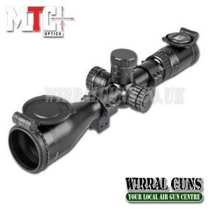 MTC Optics Viper Pro 10x44 IR Rifle Scope - Reticle SCB2