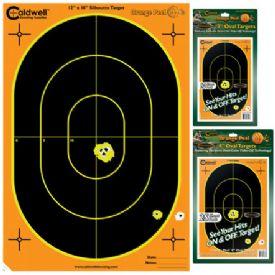 "Caldwell Orange Peel 7"" Oval Targets 10 Pack"