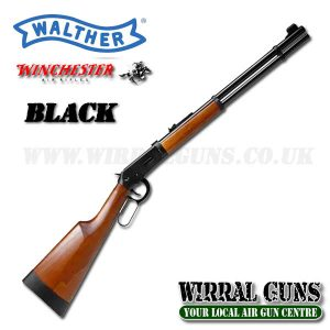 WALTHER WINCHESTER BLACK LEVER ACTION CO2 RIFLE .177