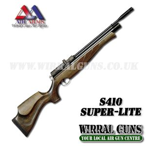 AIR ARMS S410 SUPER LITE PCP AIR RIFLE