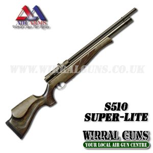 AIR ARMS S510 SUPER LITE PCP AIR RIFLE