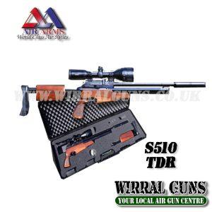 AIR ARMS S510 TDR - TAKE DOWN RIFLE