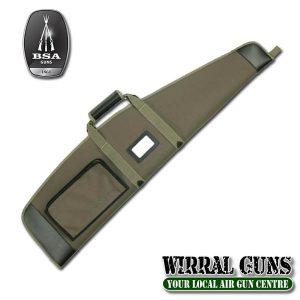 BSA POLYTWIL GREEN GUN BAG 112CM