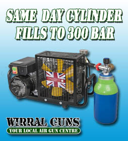 AIR GUN CYLINDER, HPA AND PCP FILLING