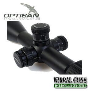 Optisan EVX 3-12x44 Illuminated Riflescope
