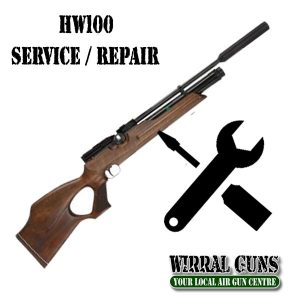 Weihrauch HW100  Full Service inc Anti-Tamper removal