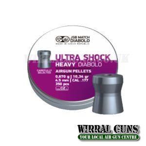 JSB ULTRA-SHOCK HEAVY PELLETS 177