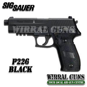 SIG SAUER P226 BLACK CO2 BLOWBACK .177