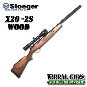 STOEGER X20 S2 SUPPRESSOR WOOD .22 COMBO