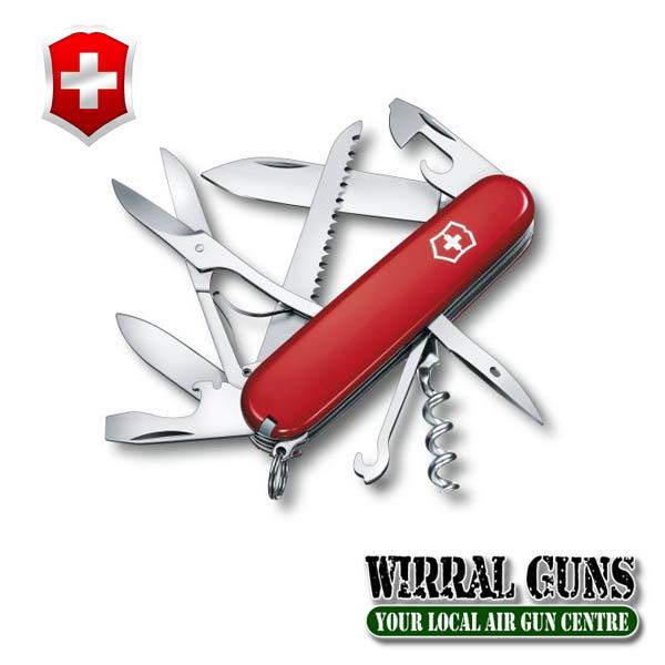 Victorinox Huntsman Knife - Red