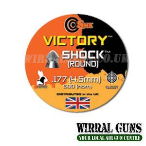 SMK VICTORY SHOCK PELLETS .177