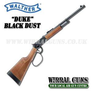WALTHER DUKE LEVER ACTION BLACK DUST CO2 RIFLE