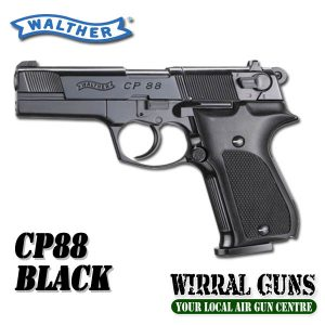 Walther CP88 Black Co2 Pistol .177