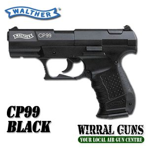 Walther CP99 Black Co2 Pistol .177