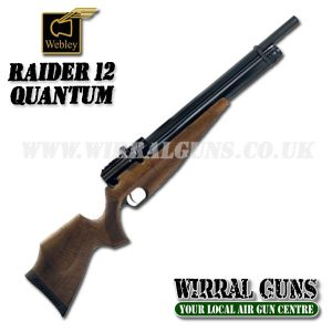 Webley Raider 12 with Quantum Silencer