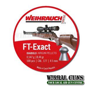 Weihrauch FT Exact Pellets  .177