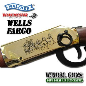 WALTHER WELLS FARGO YELLOW BOY LEVER ACTION CO2 RIFLE .177